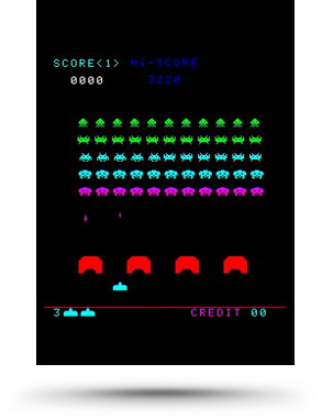 Space Invaders screenshot - Taito/Square Enix