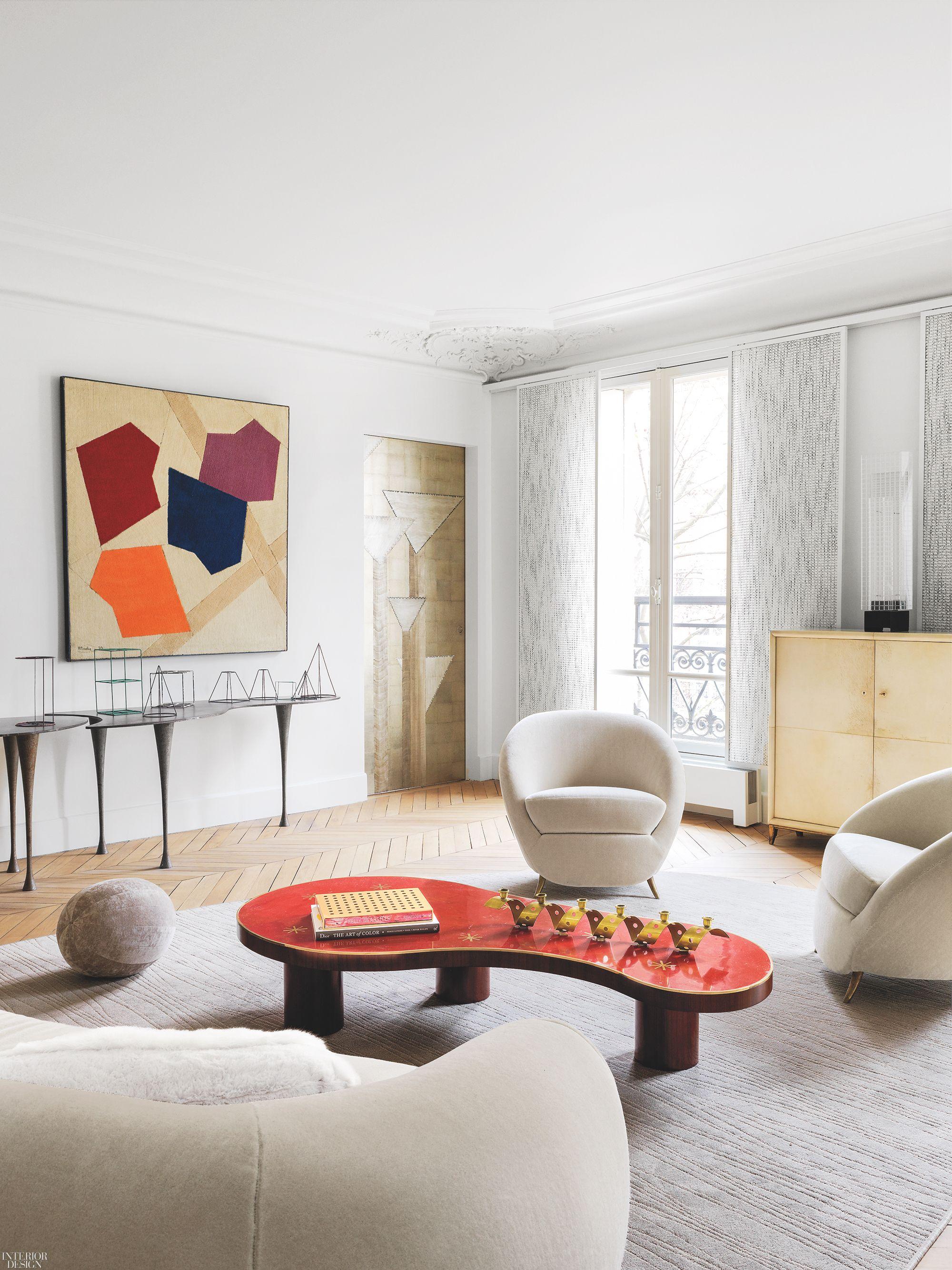 Jacques Hervouet Interiors Radically Remakes A Classic Paris Apartment Interior Design Interior Decor