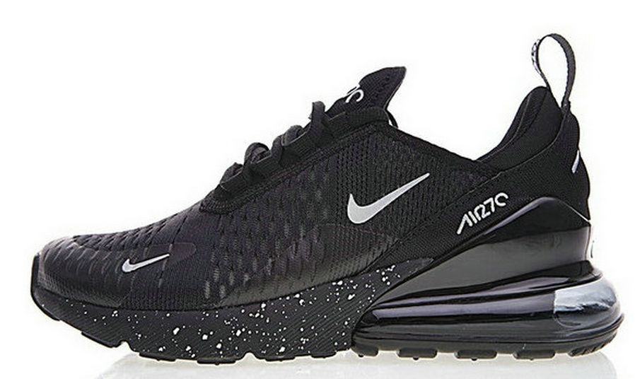 7b0047991d2 Nike Air Max 270 All Black Ah8050 202
