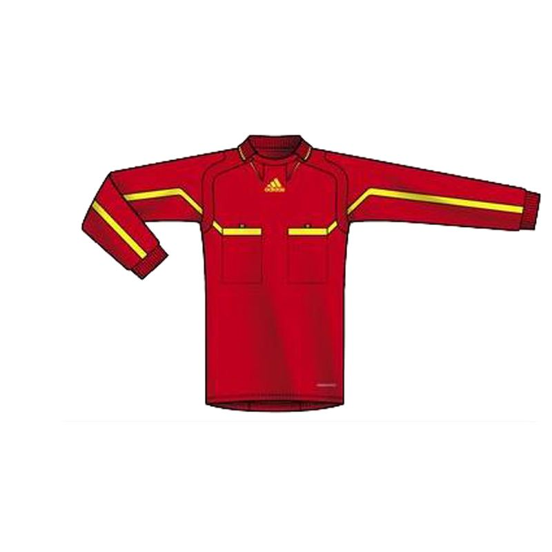 Adidas Long Sleeve Red Jersey - The Official Referee Shirt for FIFA World  Cup South Africa 80b24189e