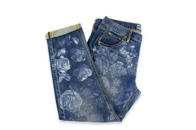 Great idea for your kids jeans that no longer fit and are used as this summers cut offs!