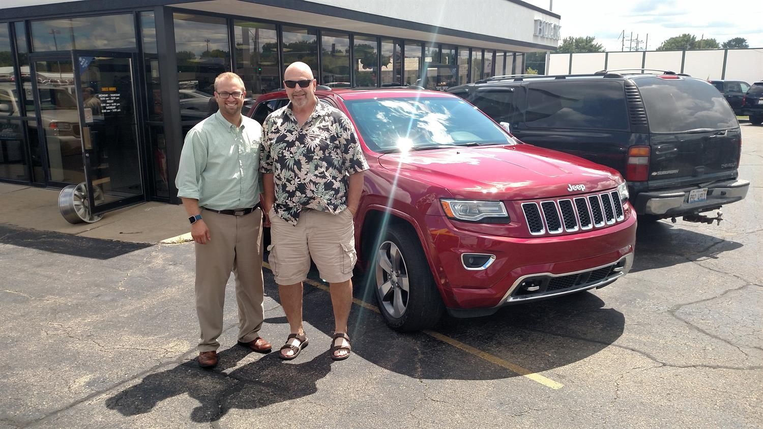 Awesome Congratulations To Darrell On Your New 2014 Jeep Grand
