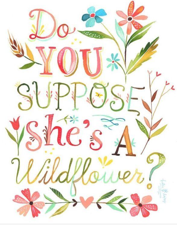 Print for nursery / Katie daisy