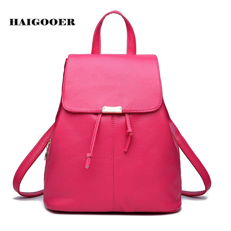 New 2017 Women Shoulder Bag Female Backpack Spring and Summer ...
