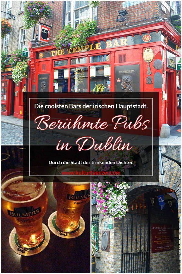 Berühmte Pubs in Dublin