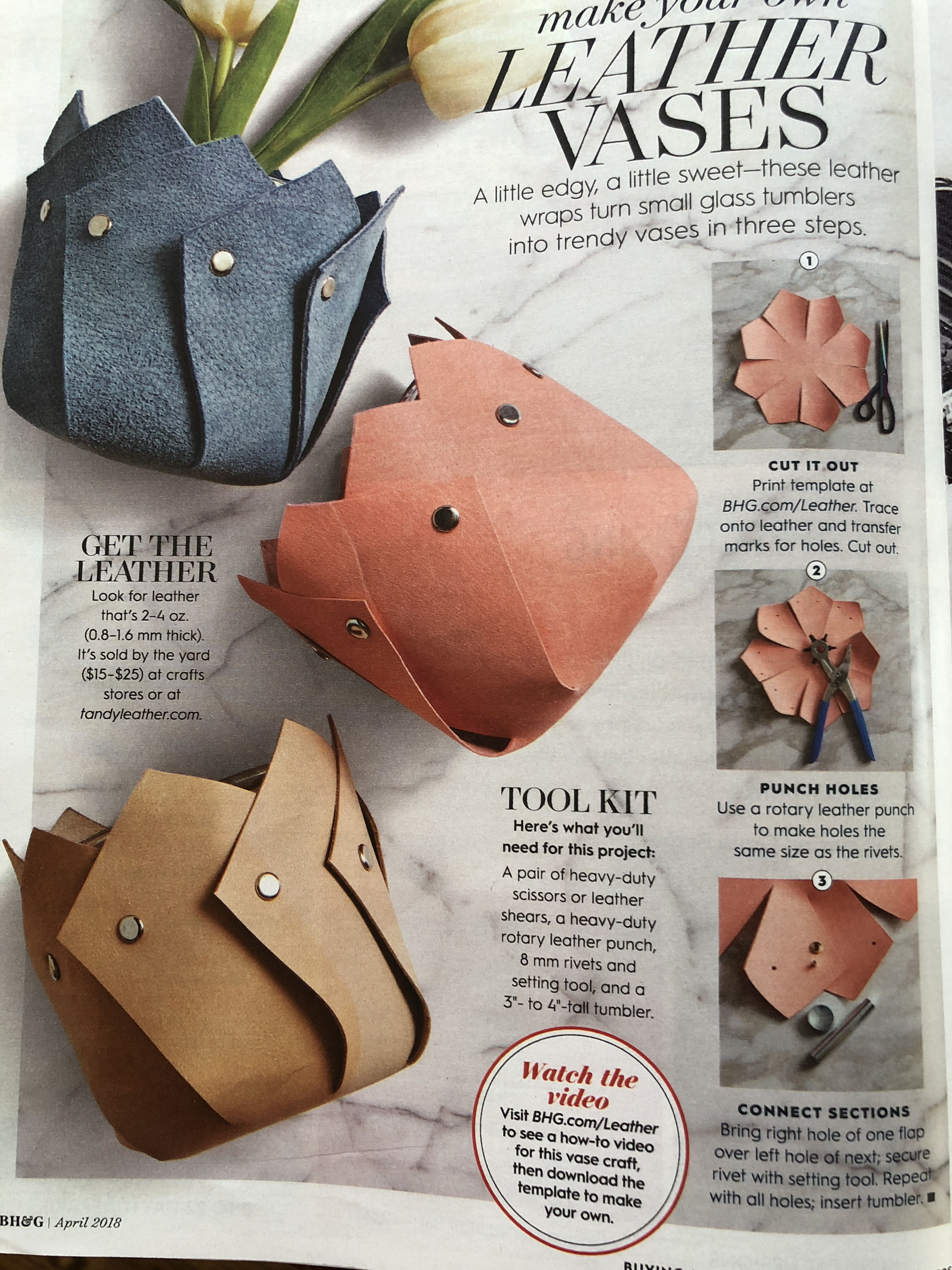Pin By Andrea On Its A Martha Stewart Day Leather Craft Things
