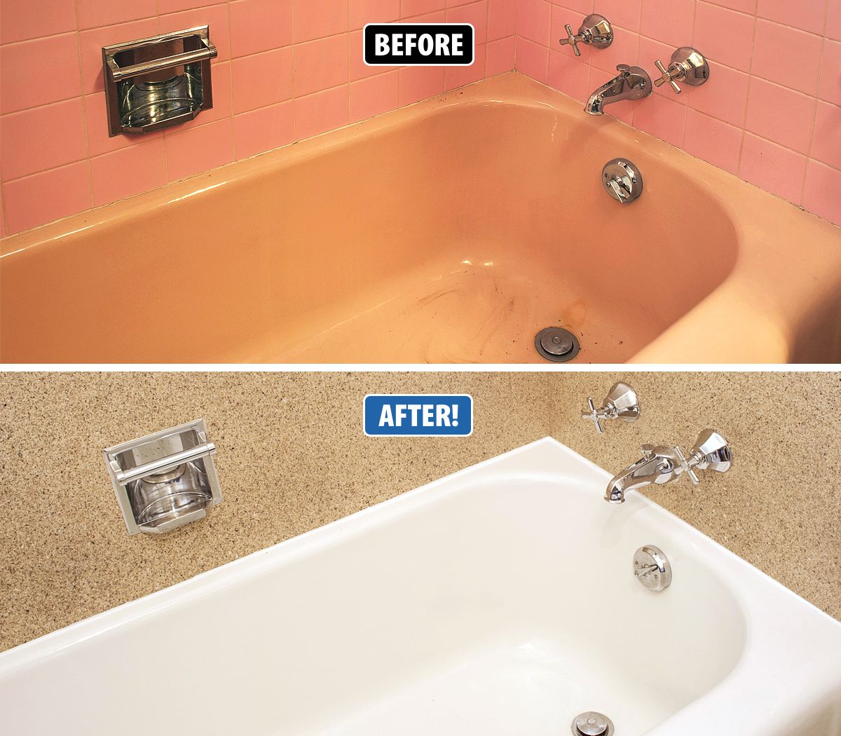 Ugly tub and tile? Don\'t rip it out and replace it, let Miracle ...