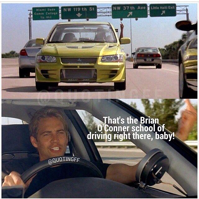 2 Fast 2 Furious- Brian