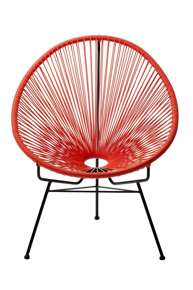 Replica Acapulco Chair Orange The Acapulco Chair Has