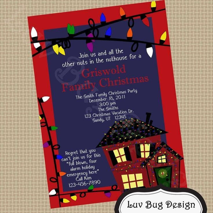 Christmas Vacation Party Ideas Part - 39: Christmas Vacation Party Invitations - Yahoo Image Search Results