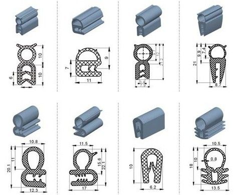 Rubber Extrusion Profiles My Barbie Dream House Camper