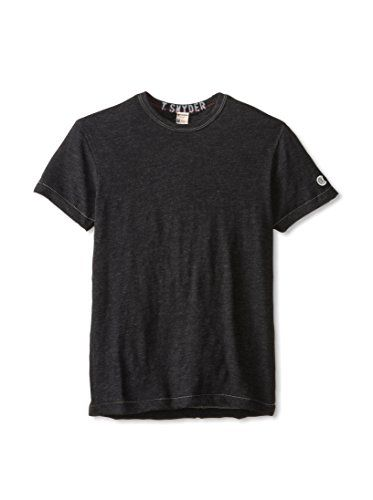 Todd Snyder + Champion Men's Classic Crew Neck T-Shirt (Charcoal Heather)