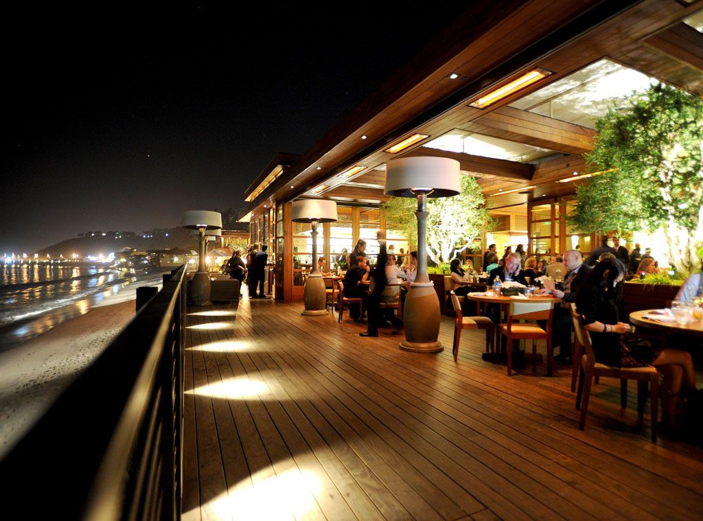 Nobu Malibu From The Chicest Restaurants In Los Angeles Vegas