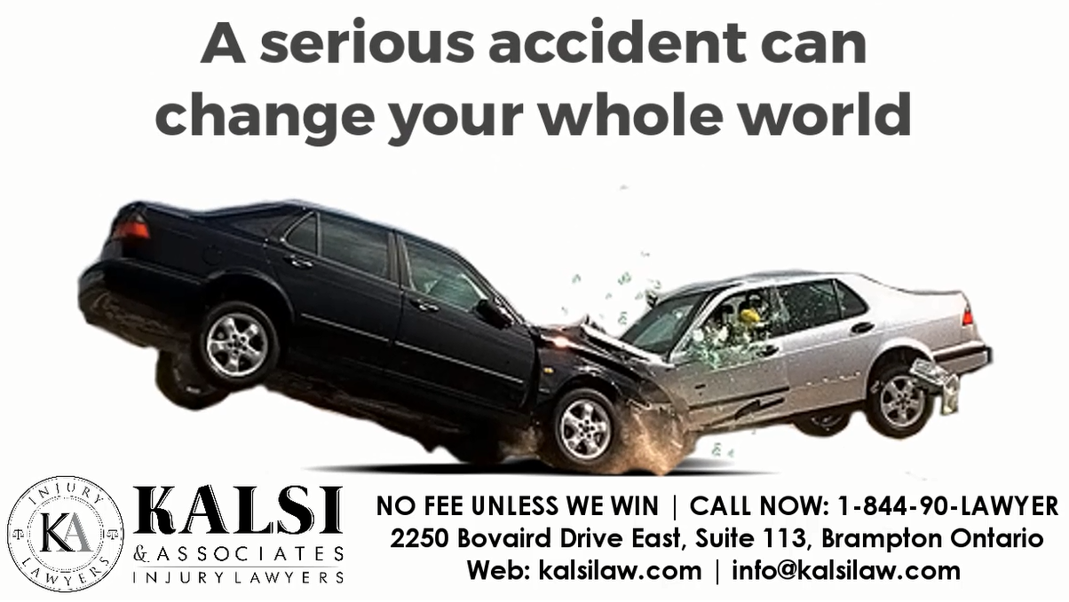 Being Involved In An Accident Can Change Your Life Dramatically