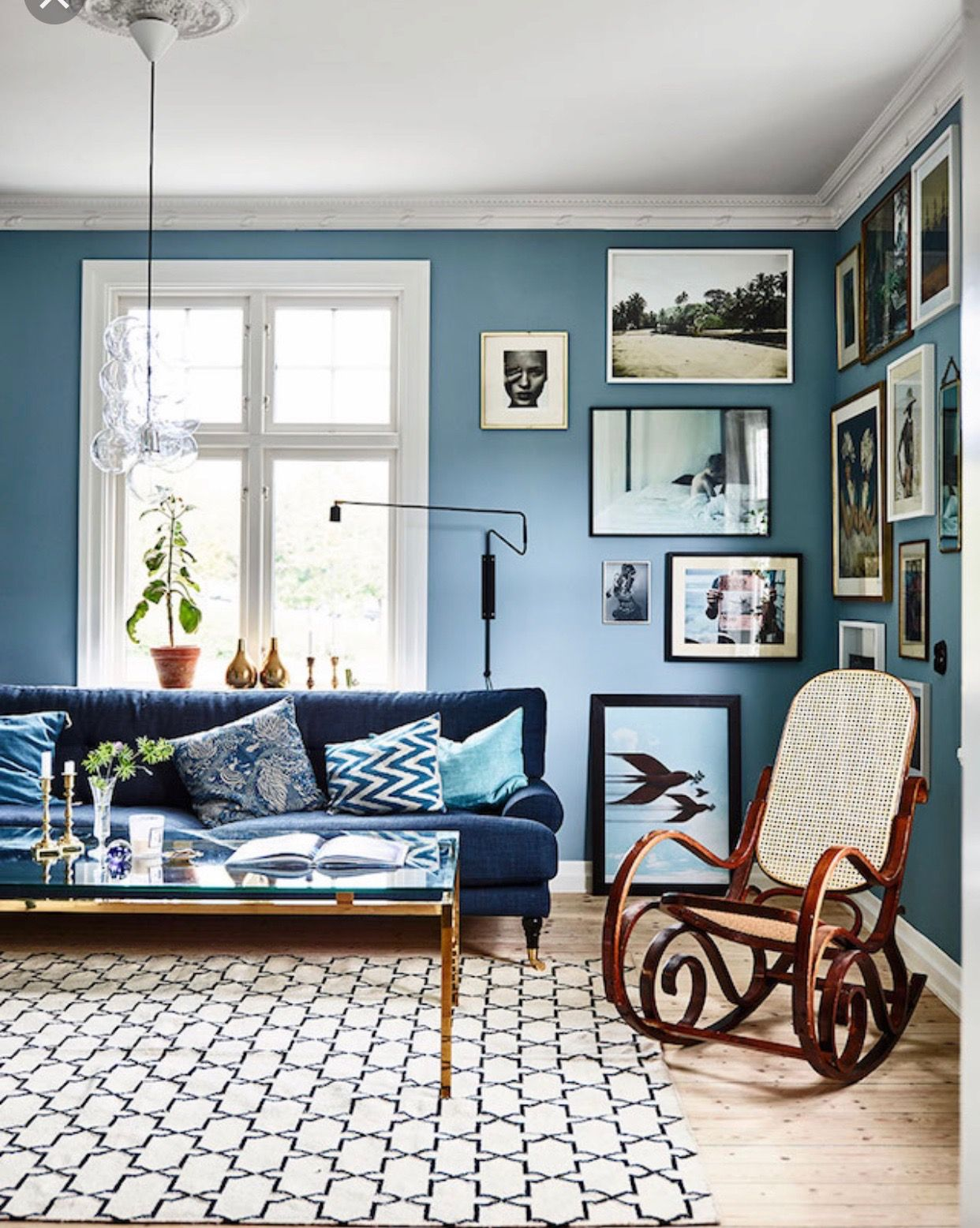 Pin By Judith Williams On A Blue White Decor Blue Living Room