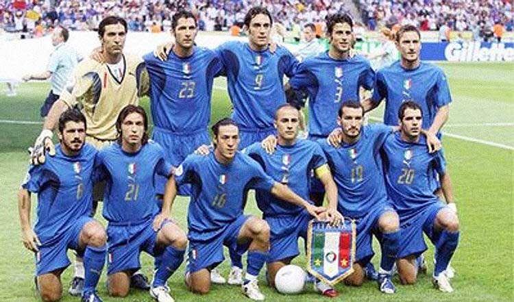 Campeão da Copa do Mundo de 2006   ITÁLIA -TETRA CAMPEÃ MUNDIAL ... f847950510651