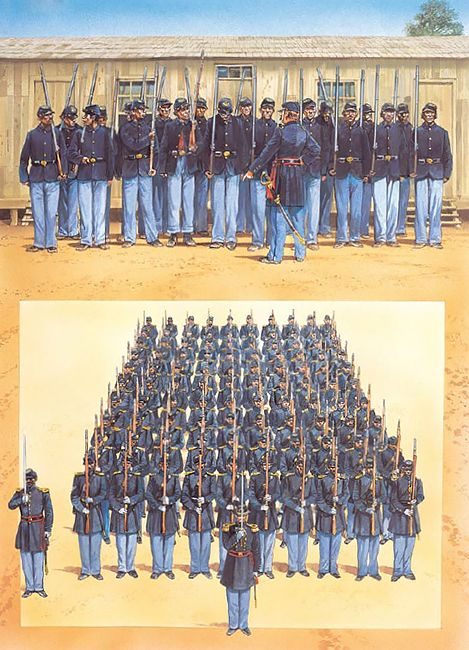 """""""Camp Nelson, Kentucky, was a major training post for USCT soldiers""""   Peter Dennis"""