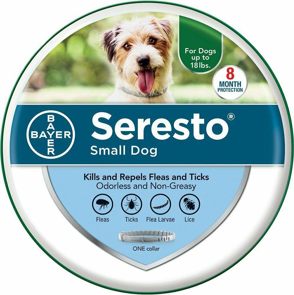 Seresto 8 Month Flea & Tick Prevention Collar For Small