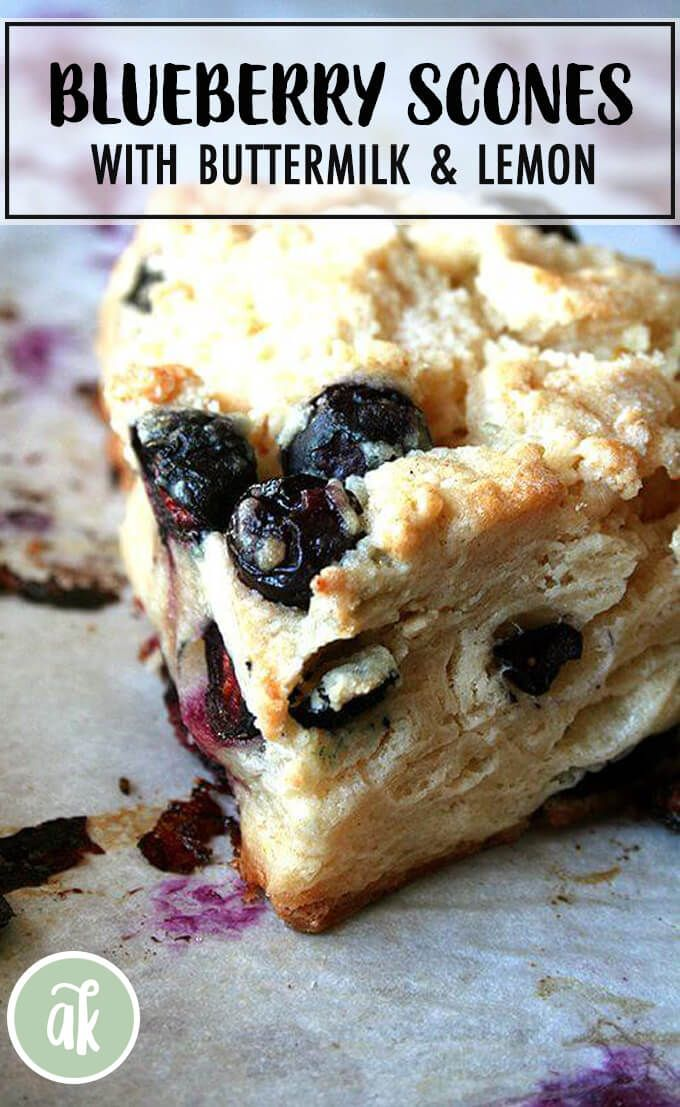 Best Buttermilk Blueberry Scones Alexandra S Kitchen Recipe Blueberry Scones Scone Recipe Blueberry Lemon Scones