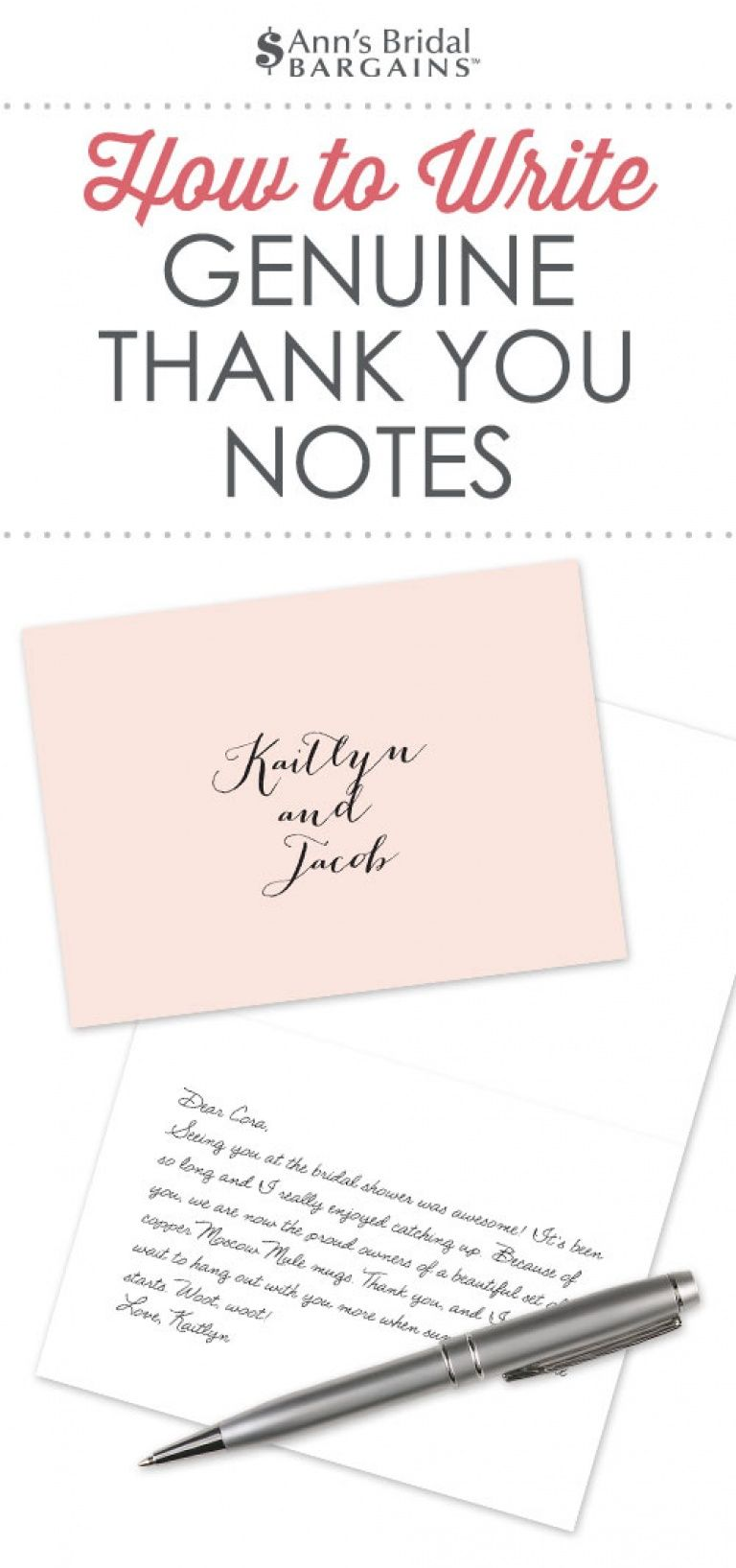 how to word thank you notes