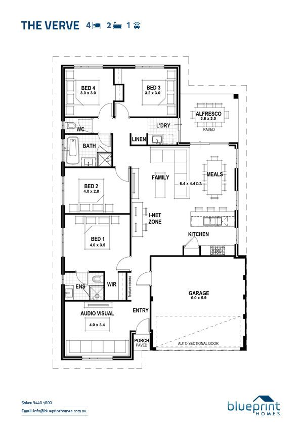 Home Designs Perth Blueprint Homes House Floor Plans Floor Plans Blueprints