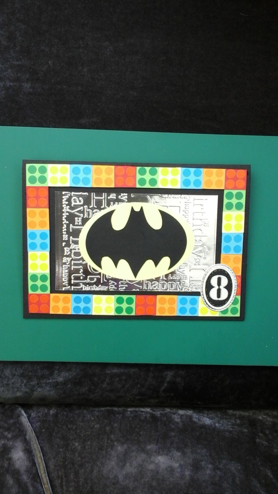 Lego Batman Birthday Card For 8 Year Old Boy