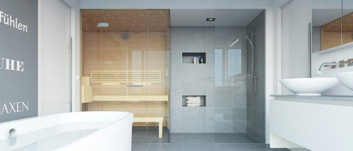 Custom Made Sauna Fitted Into A Bathroom Sauna Bathroom Ideas