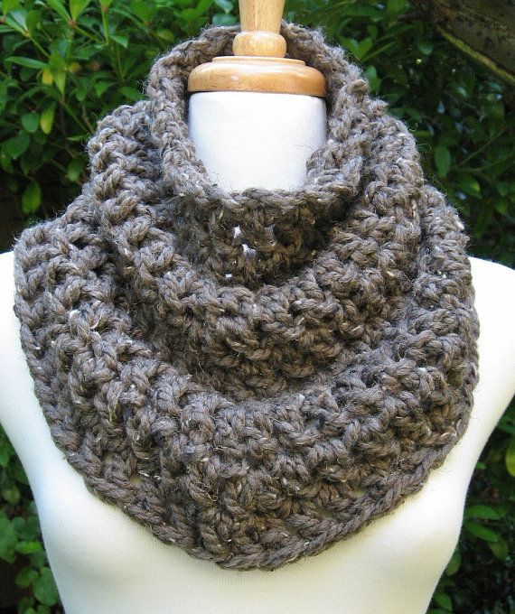 SALE Cozy Cowl Scarf Neckwarmer Capelet Snood Soft by Crushers