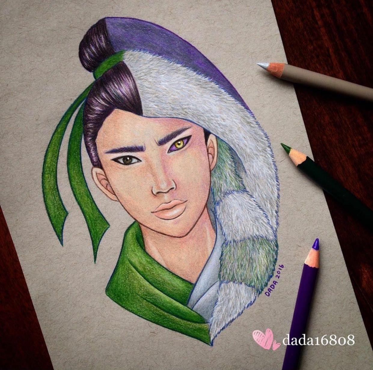 Dada25 Disney Mulan vs Shan Yu  Dessins disney, Dessin licorne