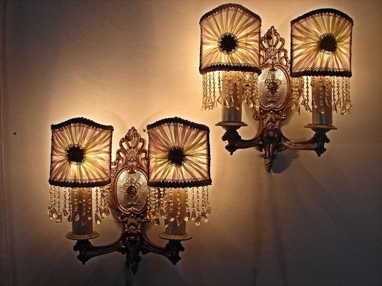 Pin by Ann Johnson on lighting | Vintage wall sconces ... on Decorative Wall Sconces Non Lighting id=45967