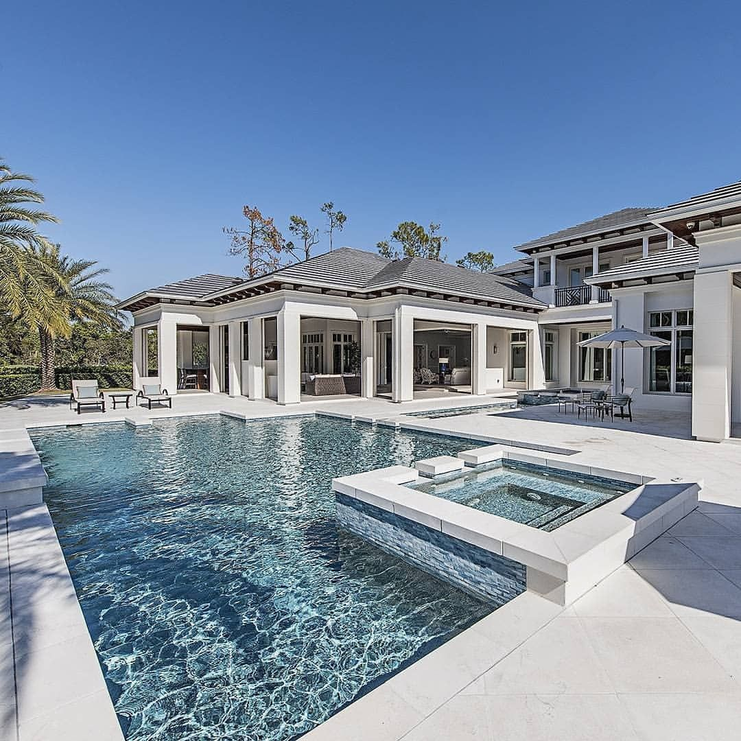 Sundays Don T Get Any Better Than This Swipe To See All The Beauty In This Home Via Prope Dream House Exterior Luxury Homes Dream Houses Pool Houses