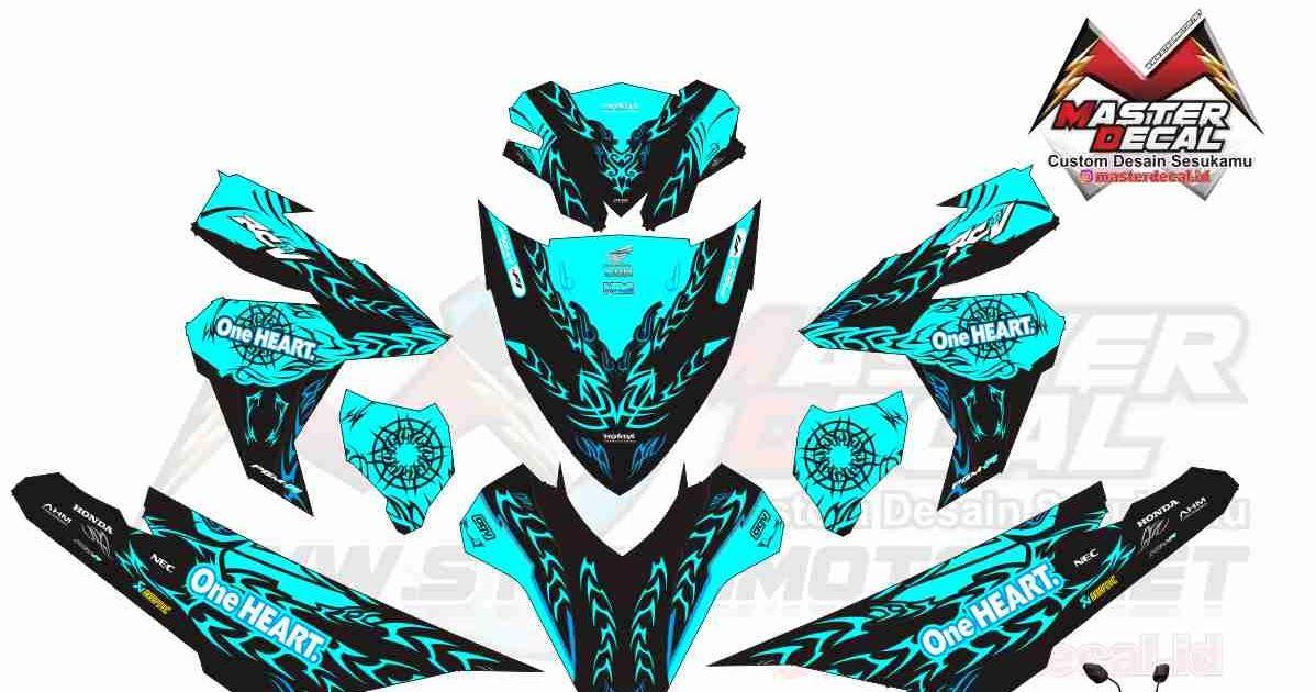 Gambar Stiker Motor Mio M3 Stiker Motor Yamaha Mio M3