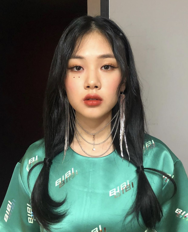 Bibi Nakedbibi Kimhyungseo Kpop Girl Groups Kpop Girls Girl