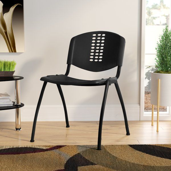 Enjoyable Youll Love The Flora Stack Guest Chair At Wayfair Great Gmtry Best Dining Table And Chair Ideas Images Gmtryco