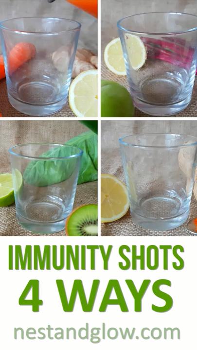 Photo of Immunity Shots Without a Juicer Recipe