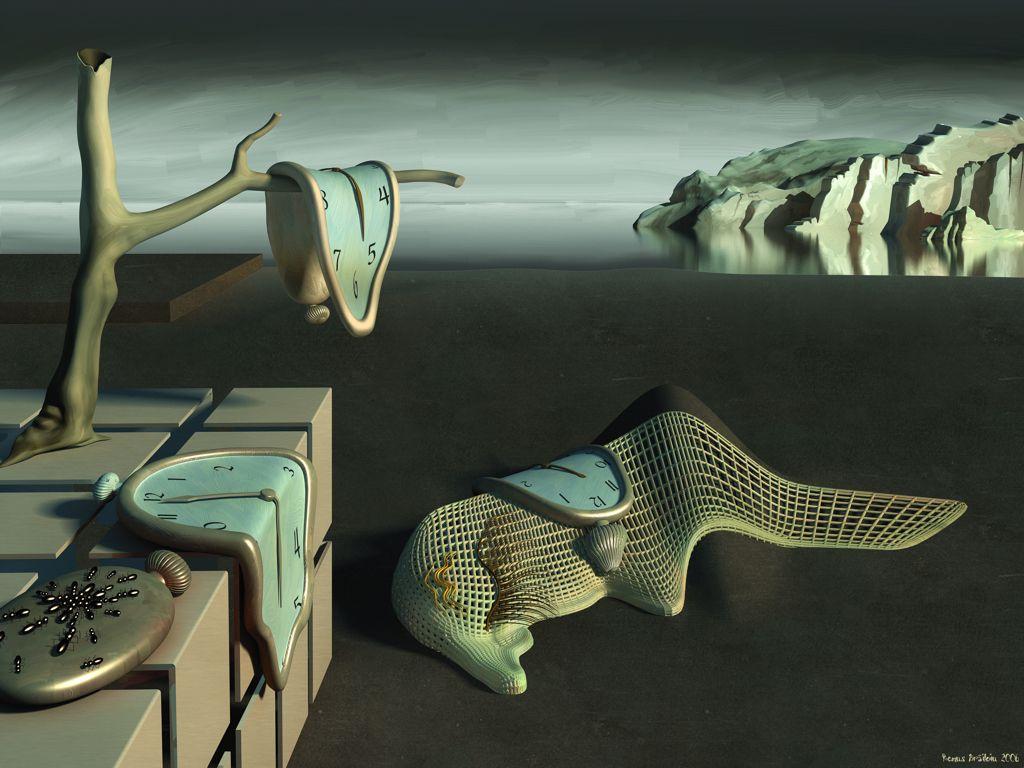 Digital art time 3dsmax artrage landscape 3d dali
