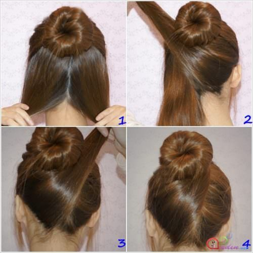 17 Air Hostess Hairstyles You Can Do At Home Page 7 Of 17 Hairstyle Monkey Thick Hair Styles Hair Styles Hair Lengths
