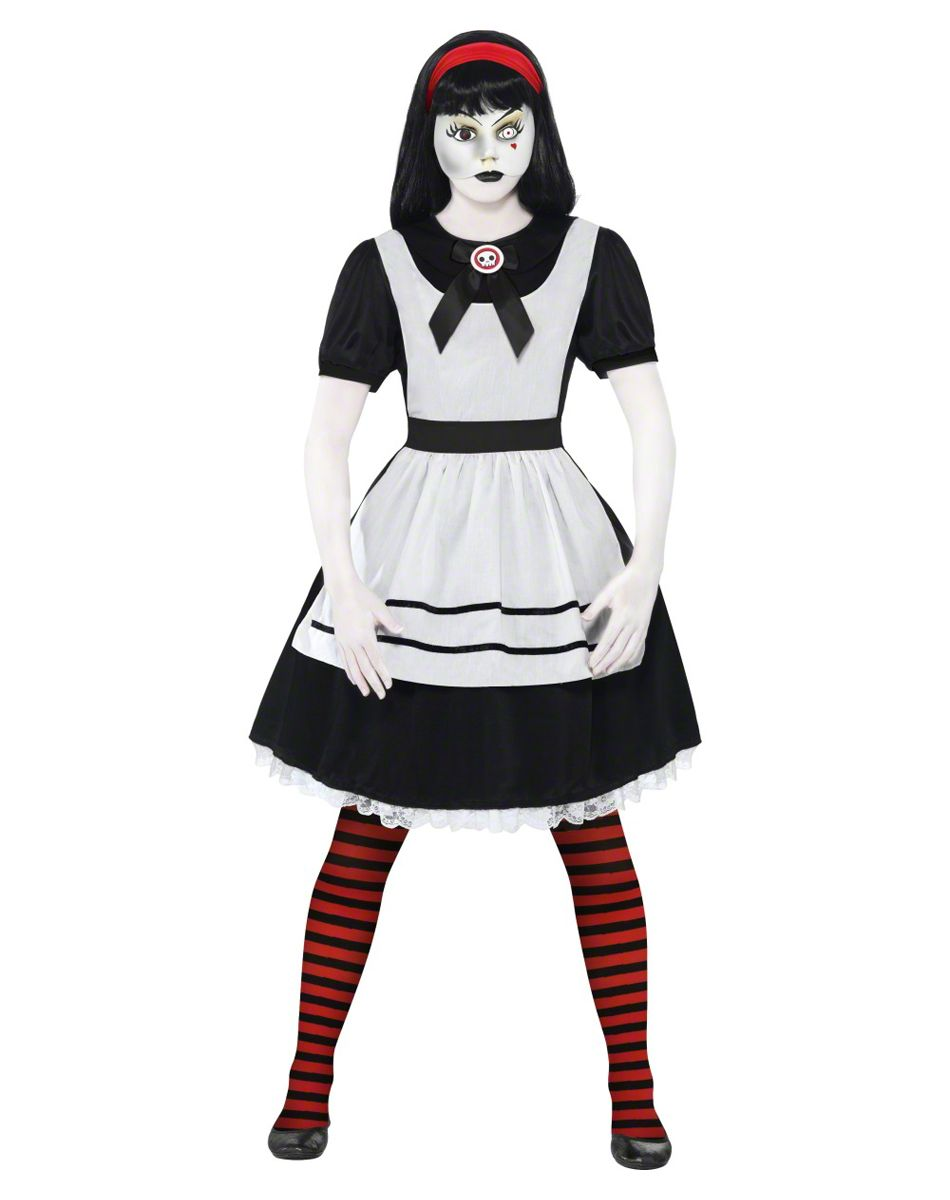 Living dead dolls alice doll adult women 39 s costume costumed pinterest woman costumes - Deguisement horreur femme ...