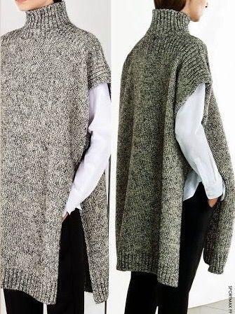 Pin de clara safra en knit/crochet projects | Pinterest | Ponchos ...