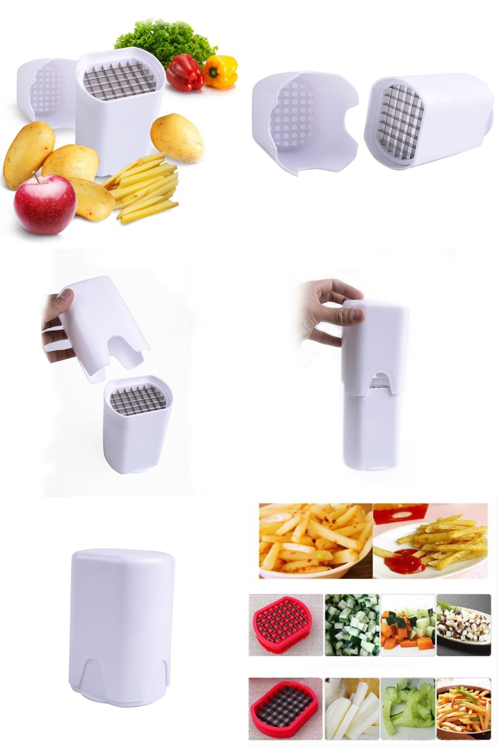 Visit to Buy] Perfect Cut Fries Vegetable Fruit potato chips kitchen ...