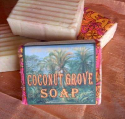 Nature's Emporium Soap Company  Coconut Grove Soap  www.CherokeeSoap.com