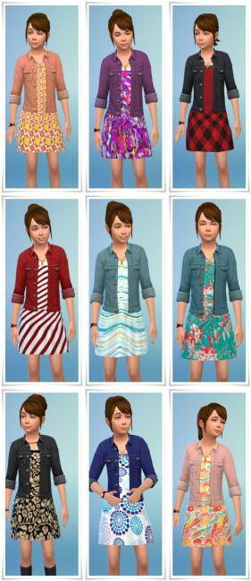 alina's favorite dress  sims 4 kleinkind sims 4 mods und