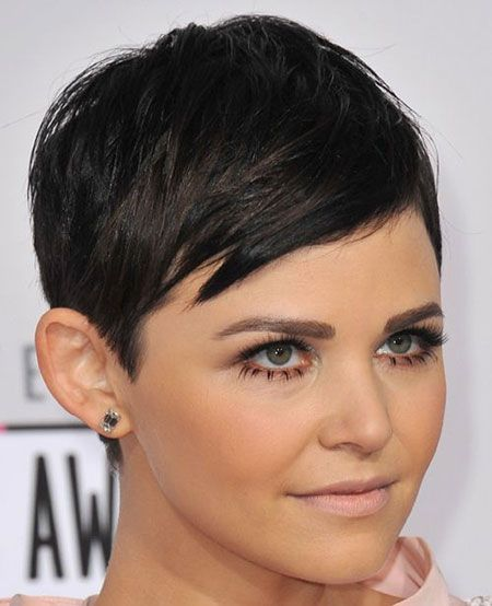Outstanding Short Shaved Pixie Haircuts Looks Inspirational Article Jpg 450 Short Hair Styles For Round Faces Short Hair Styles 2014 Celebrity Short Haircuts