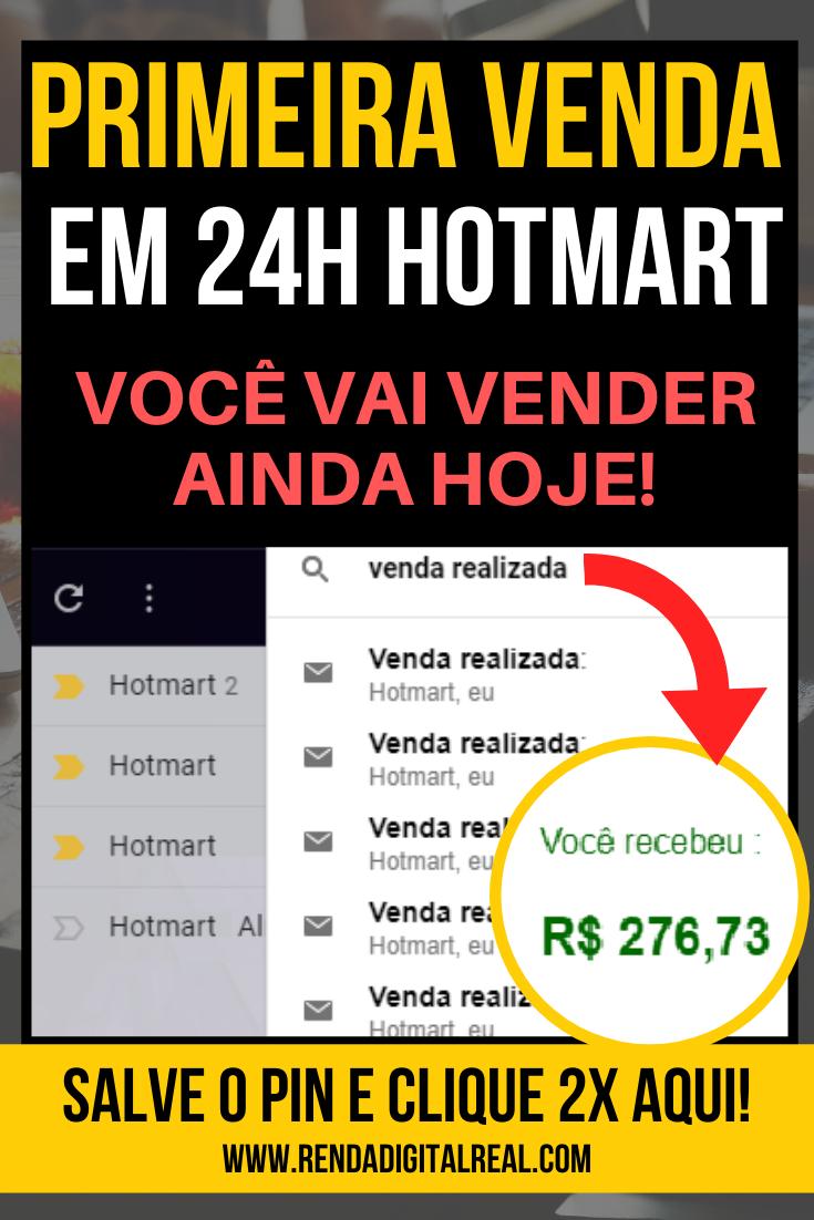 Como vender na Hotmart em 24h