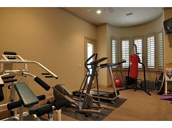 another idea for a compact exercise room