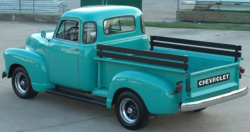 1953 Chevrolet 3100 Pickup Hoog op mijn wish list!! Hubbie maar ...