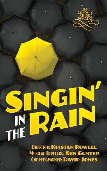 Program Cover Singing in the Rain Broadway Mini Imagery
