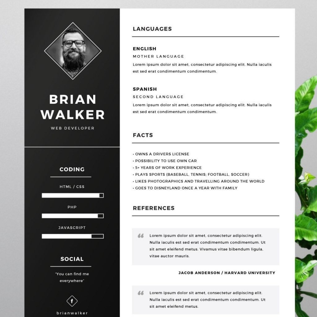 Free Resume Templates That Stand Out Freeresumetemplates