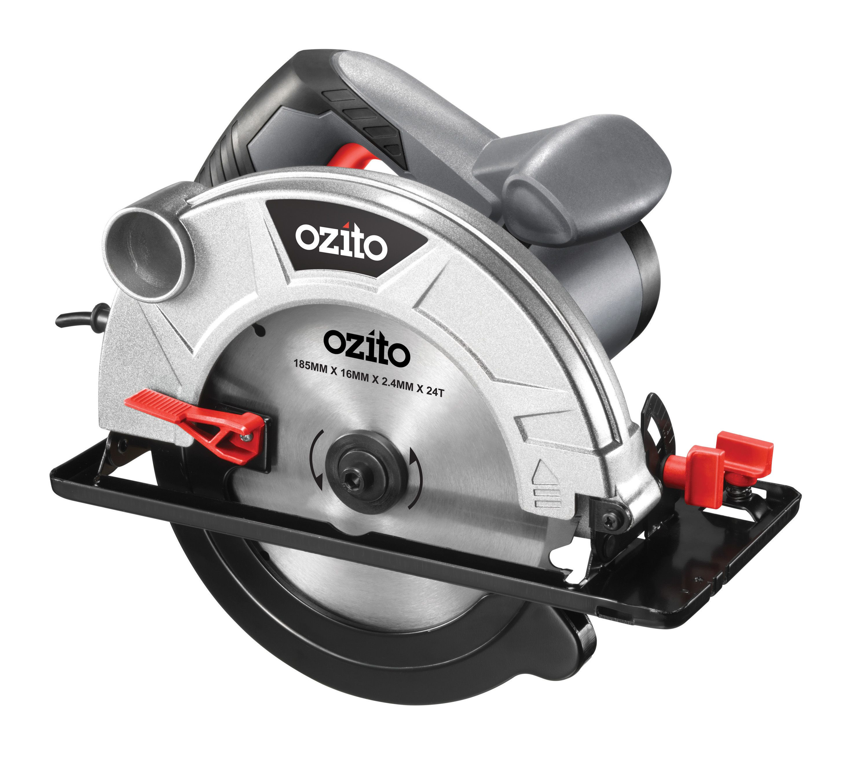 Cool Ozito 1200W 185Mm Corded Circular Saw Bunnings Warehouse Short Links Chair Design For Home Short Linksinfo