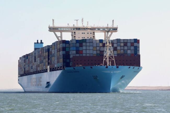 10 World S Biggest Container Ships In 2017 Sailing Ship World S Biggest